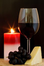 Cheese And Wine Royalty Free Stock Photos - 23581938