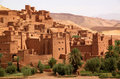 Ait Benhaddou, Moroccan Ancient Fortress Royalty Free Stock Photo - 23583945
