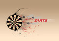 Darts Board Background Royalty Free Stock Photography - 23592467