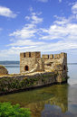Tower Of Golubac Fortress In Serbia Stock Photography - 23592722