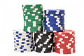 Poker Chips Stock Photography - 23592902
