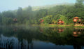 Cosy Log Cabins In South Africa Stock Images - 23595494