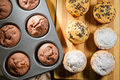 Various Muffin And Baking Tray Royalty Free Stock Image - 23603066