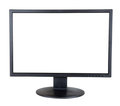 Computer  Monitor. Isolated On White Stock Photo - 23604770