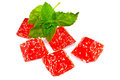 Jelly Red With Mint Stock Image - 23605711