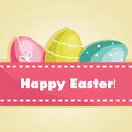 Easter Egg Card Royalty Free Stock Image - 23609796
