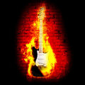 Flime Guitare Royalty Free Stock Photo - 23611225