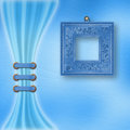 Delicate Pastel Background With Ornate Frame Stock Images - 23612274