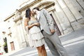 Kiss In Front Of The Church Stock Photos - 23614893