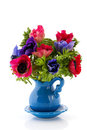 Bouquet Anemones Royalty Free Stock Photography - 23617197