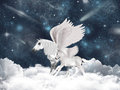 Pegasus Fairy Tale Royalty Free Stock Photography - 23621397