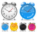 Alarm Clocks Royalty Free Stock Photo - 23625045