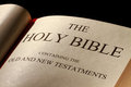 The Holy Bible Royalty Free Stock Photos - 23631958
