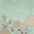 Floral Backgrounds With Vintage Roses. EPS 8 Royalty Free Stock Photos - 23635658