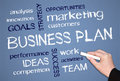 Features Of Business Plan Royalty Free Stock Photos - 23647228