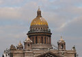 Domes Of The Isakievsky Cathedral Royalty Free Stock Photos - 23662718