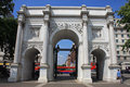 Marble Arch Stock Image - 23671511