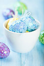 Colorful Easter Eggs Stock Photos - 23672833