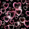 Seamless Heart Pattern Stock Image - 23675701