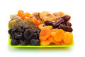 Delicious Dried Fruits On Plate Stock Images - 23680364