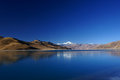 Yamdrok Yumts Lake In Tibet Royalty Free Stock Photography - 23684037