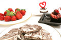 Chocolate Candy And Strawberry Royalty Free Stock Photos - 2374818