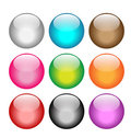 Glossy Web Buttons Royalty Free Stock Photography - 23723897