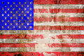 Grunge USA Flag Theme Background Stock Photo - 23743350