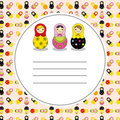 Russian Doll Royalty Free Stock Photography - 23754517