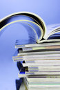 Stack Of Magazines Royalty Free Stock Photography - 23759307