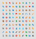 Sticker Icons Royalty Free Stock Photography - 23775127