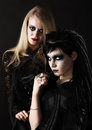Young Gothic Women Stock Photography - 23783102