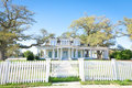 American Home: Southern-Style Mansion Royalty Free Stock Photos - 23797898
