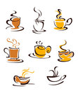Cups Of Hot Coffee Stock Photo - 23798980