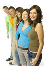 Gropu Of Teenagers Royalty Free Stock Images - 2386229