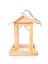 Empty Wooden Bird Feeder House Stock Photos - 23803383
