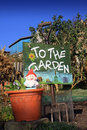 Garden Sign 2 Royalty Free Stock Image - 23803486