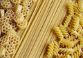 Three Kinds Of Pasta Stock Photography - 23806792