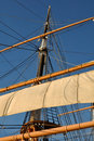 Mast Of A Pirate Ship Royalty Free Stock Photos - 23817418