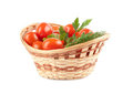Basket Of Tomatoes Stock Images - 23822474