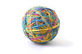 Rubber Band Ball Royalty Free Stock Photography - 23827497