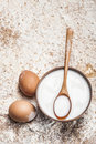 Fresh Milk And Eggs Royalty Free Stock Photography - 23829597