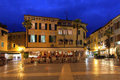 Carducci Square In Sirmione, Italy Royalty Free Stock Photos - 23869418