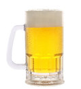Mug Of Beer On White Royalty Free Stock Photo - 23886065