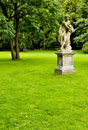 Naked Nymph Statue In The Ornamental Park Royalty Free Stock Images - 23890969