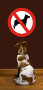 No Dogs Allowed. Royalty Free Stock Images - 23892499