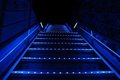 Blue Stairs Royalty Free Stock Photography - 23893667