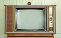 Vintage Television Royalty Free Stock Photo - 23898445