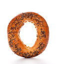 Bagel With Poppy Seeds Stock Image - 23898781