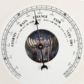 Barometer Dial Set To Change Royalty Free Stock Images - 2390059